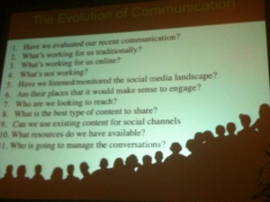 Deirdre Breakenridge Evolution of Communication